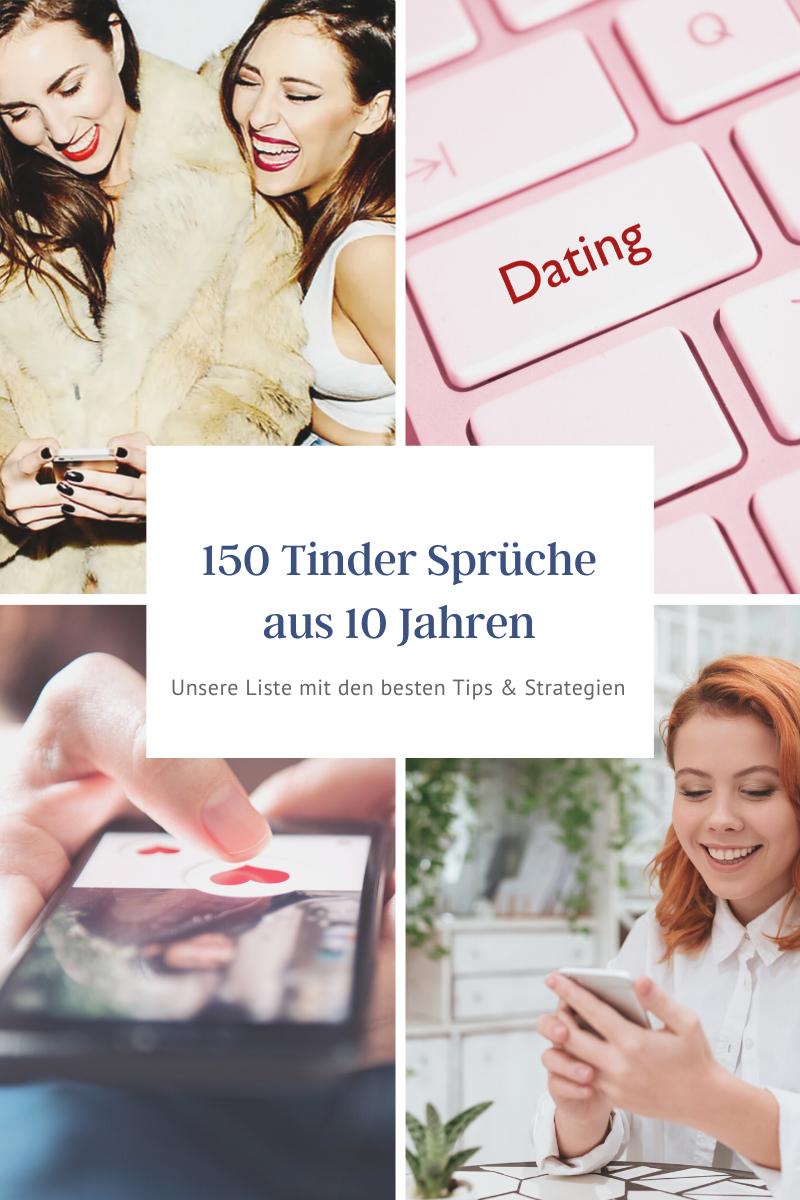 Die besten 150 Tinder Sprüche und 8 Strategien für Männer
