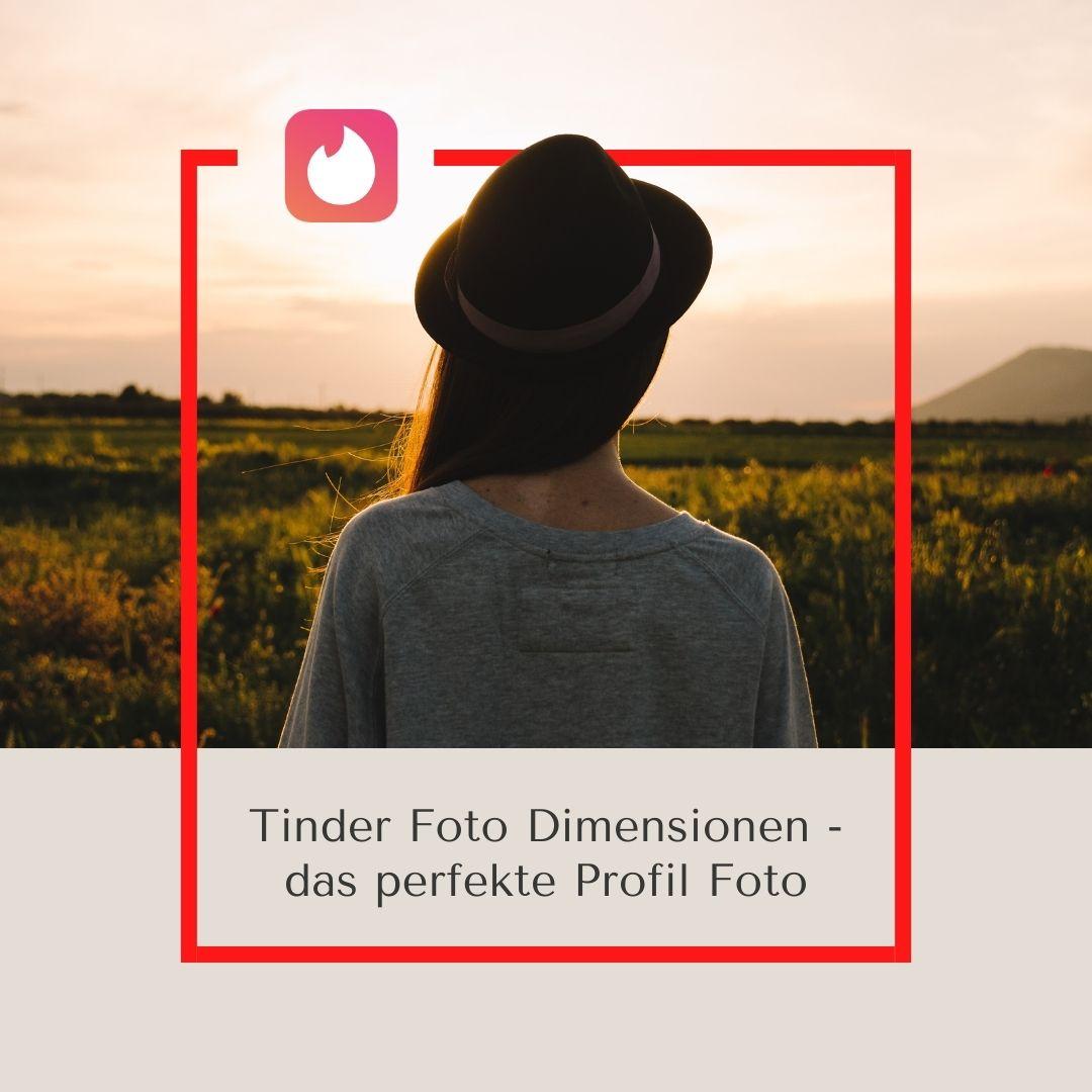 Tinder-Bildgröße (kein Zuschneiden/Zoomen erforderlich)